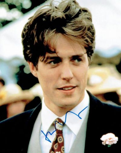 Hugh Grant Autograph Signed Photo - Four Weddings